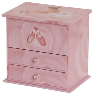 Mele & Co. Casey Girl's Ballerina Jewelry Box - Contemporary - Kids Jewelry Boxes - by Mele & Co.