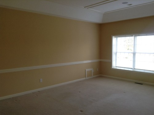 Is It Still Stylish To Use 2 Tone Paint In A Bedroom With