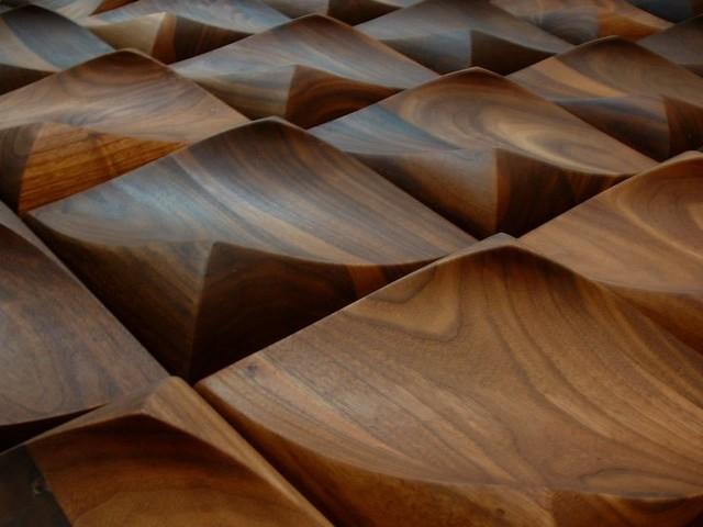 Dune Hardwood 3d Wall Art Tile Modern Home Decor
