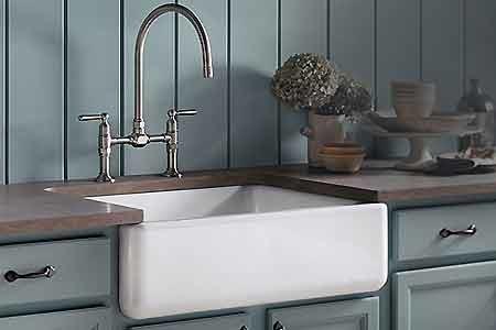 Kohler Apron-Front Kitchen Sink - Chicago - by Crawford Supply