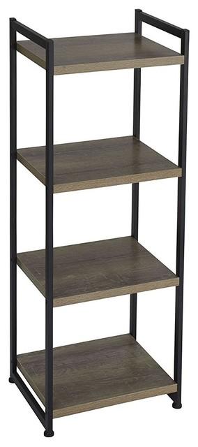 Decor Love Tall Storage Unit Black