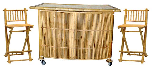 Tropical bar furniture home design ideas and pictures for Tropical home bar furniture