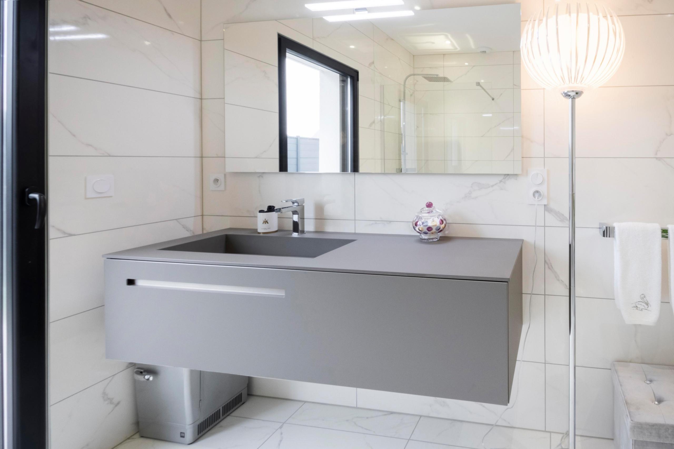 Création d'une salle de bains chic