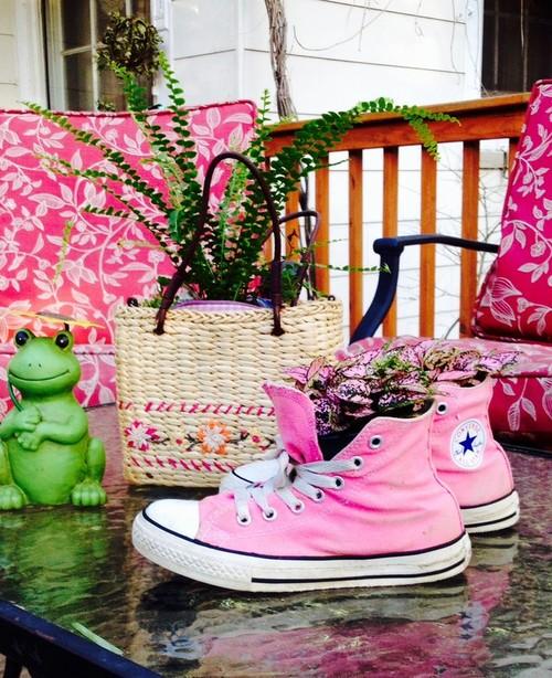 converse shoe purse