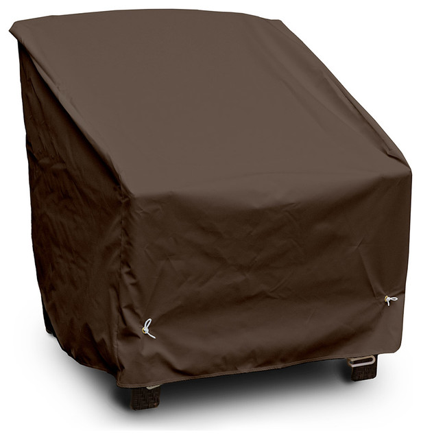 Deep Seating High Back Lounge Chair Cover, Chocolate Contemporary Outdoor  Furniture