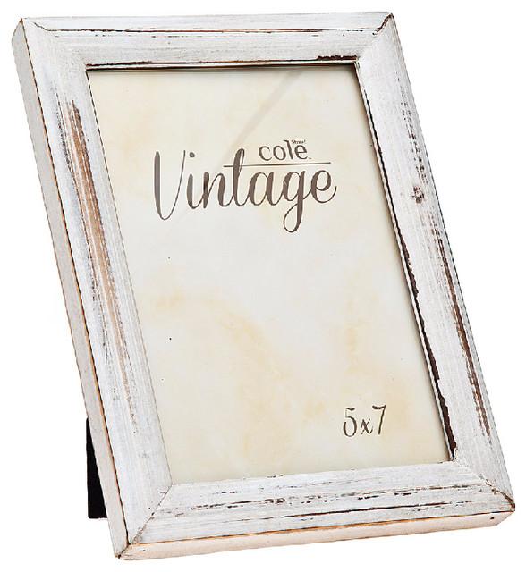 5x7 distressed white wood frame farmhouse picture frames by - Distressed Wood Picture Frames