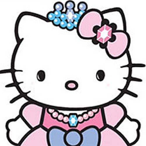 Hello Kitty Princess Castle Self Stick Wall Accent Decal Set Contemporary  Wall Decals Part 89