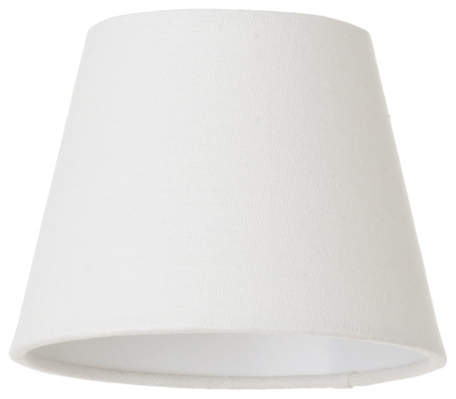 Conical Soft Cotton Lamp Shade, Ivory