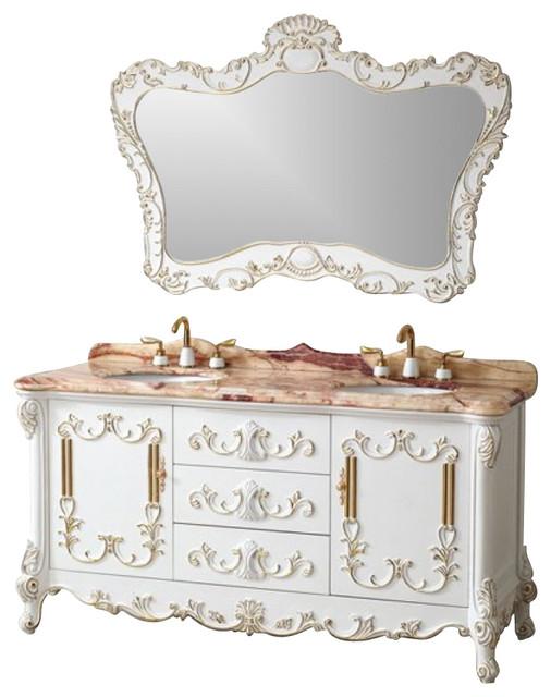 65 Inch Double Sink Bathroom Vanity