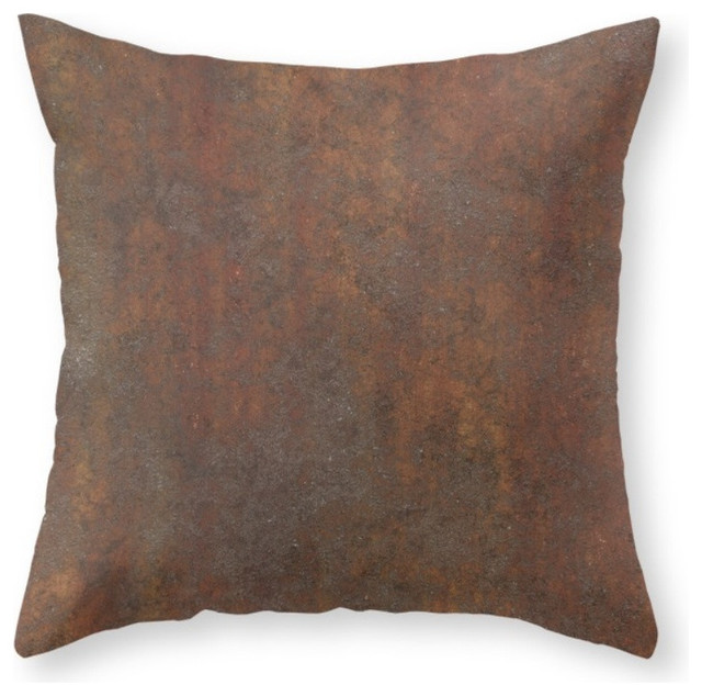Throw Pillow Rust : Society6 Rust, Throw Pillow - Contemporary - Decorative Pillows - by Society6