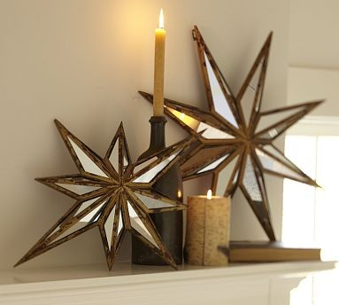 Decorative Star Mirrors Traditional By Pottery Barn