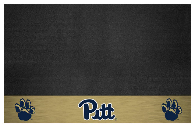 Pittsburgh Panthers Bbq Grill Mat.