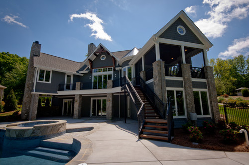 Best outdoor living for Passarelli custom homes