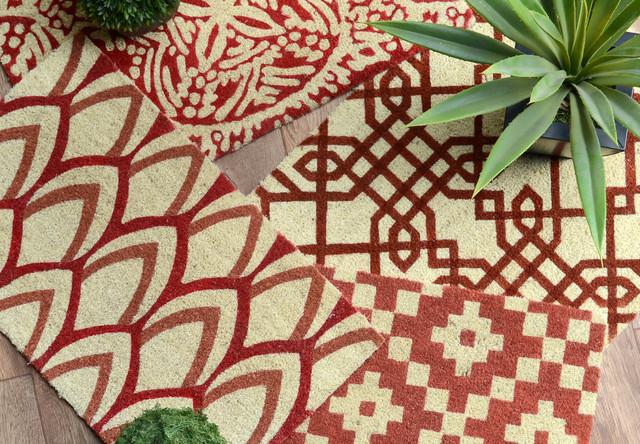 "Kai Coir 18""x30"" Fiber Doormat by Kosas Home"