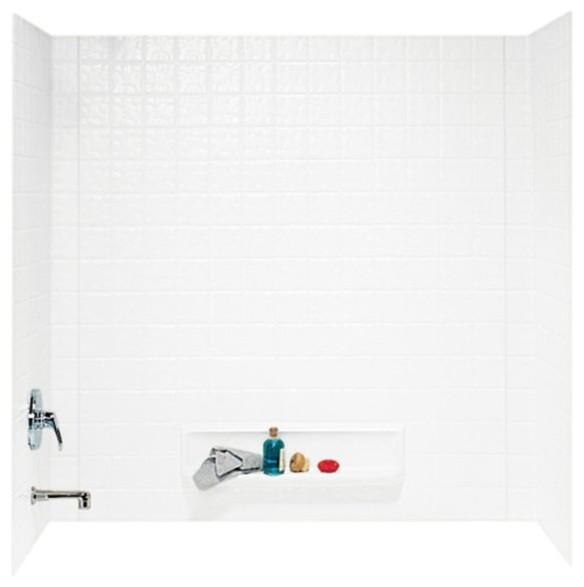 Swan 30x60x59.625 Veritek Bathtub Wall Kit - Contemporary - Shower ...