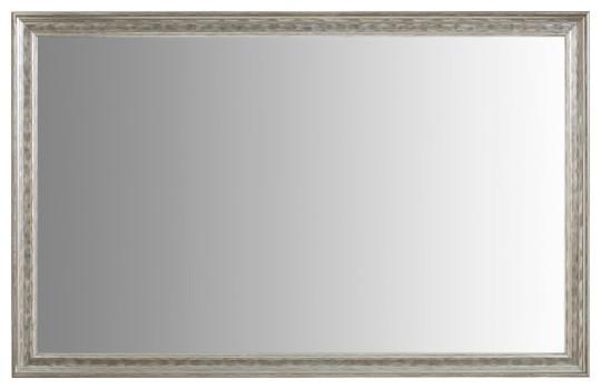 """Crenshaw Silver Framed Mirror, 36""""x60""""."""