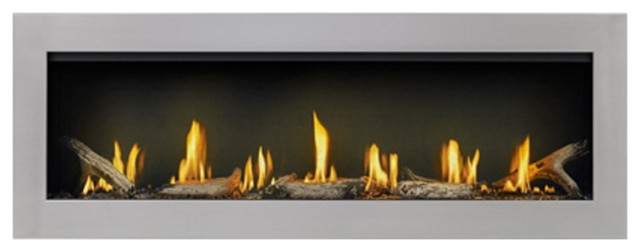 """Napoleon Vector 50"""" Gas Fireplace, Lv50n-1."""