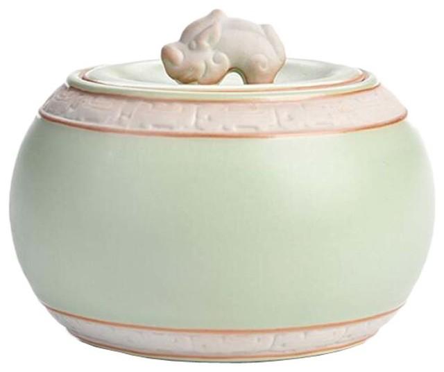 Ceramic Container Kitchen Storage Canister Jar, 3.5\