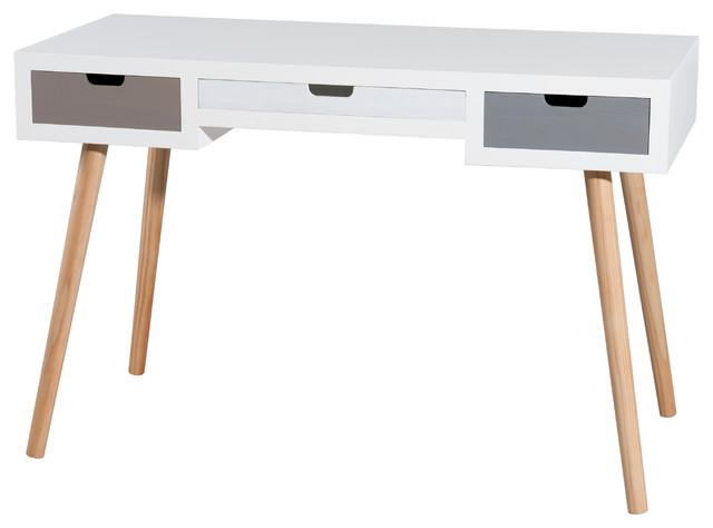 Enzo 3-Drawer Desk