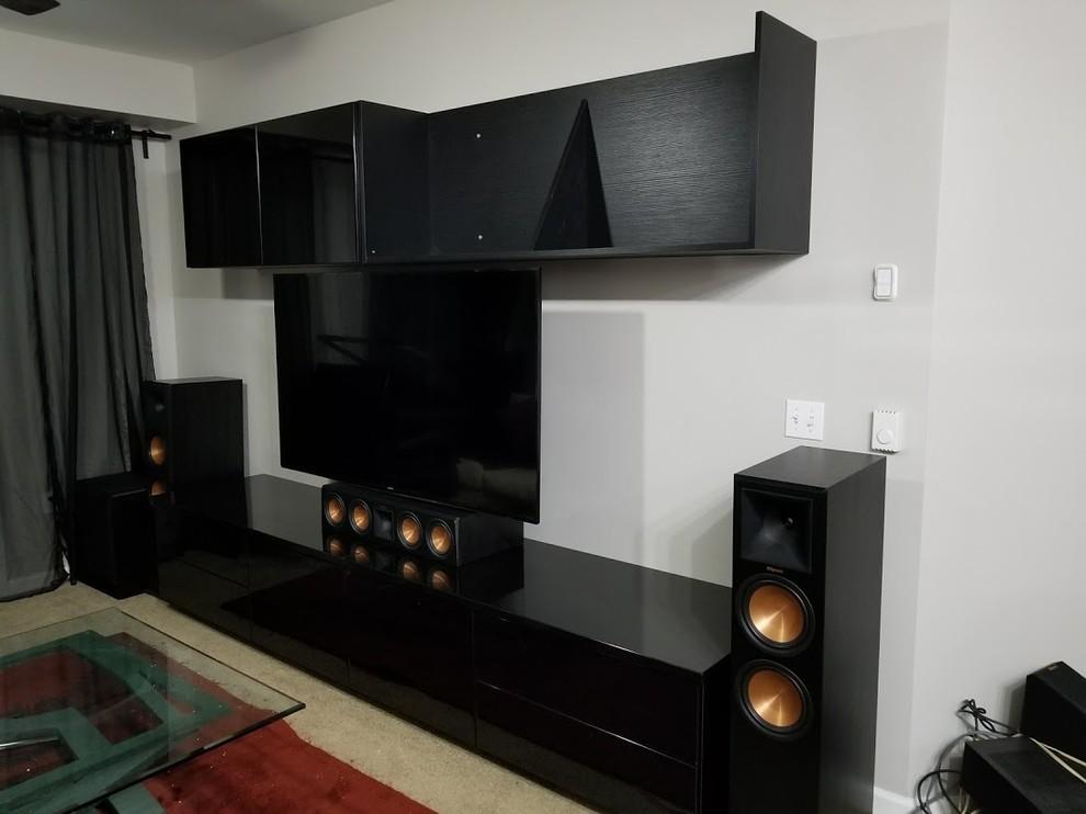 Media Wall Unit- Surround Sound