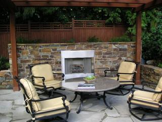 Mercer island residential retreat asiatisch patio for Gartenmobel asiatisch