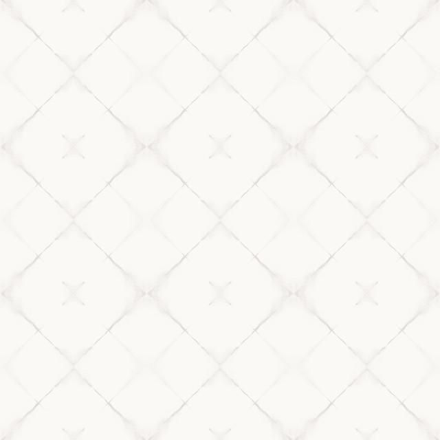 Neutral Trellis Wallpaper