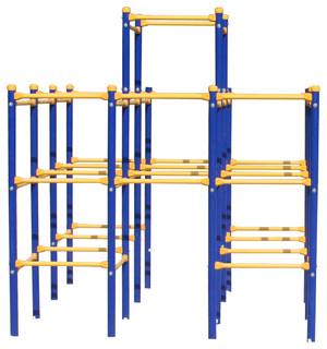 Skywalker Sports Modular Jungle Gym Base - Contemporary - Kids ...