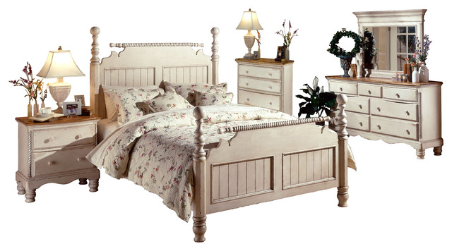 Wilshire Bed  King  Rails  Nightstand  Dresser  Mirror  and Chest farmhouse. Wilshire Bed  Rails  Nightstand  Dresser  Mirror  And Chest  Queen