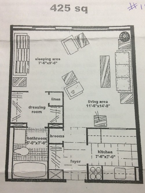 How to set up a bachelor studio apartment for Studio apartment setup