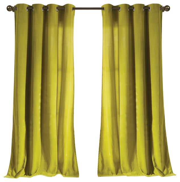 Madison Kensie Velvet Modern Curtains By Duck River Textile