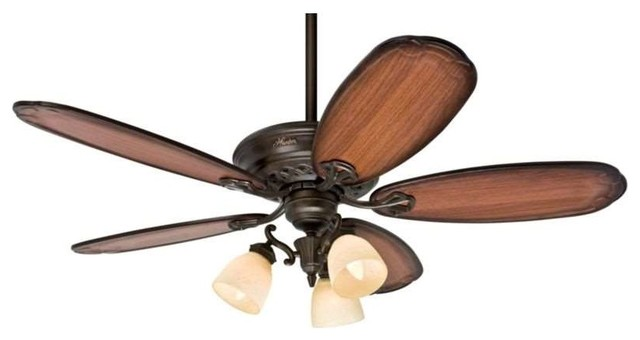 Hunter fans hunter prestige ceiling fan 54015 crown park 54 hunter prestige ceiling fan 54015 crown park 54 ceiling fan in tuscan gold traditional mozeypictures Image collections