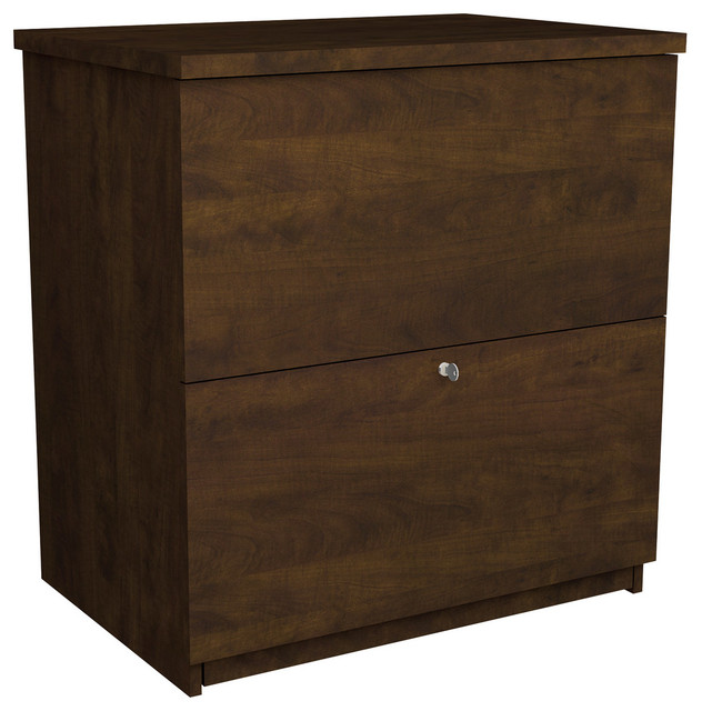 Standard Lateral File, Bordeaux Cherry - Transitional - Filing Cabinets - by Harvey & Haley