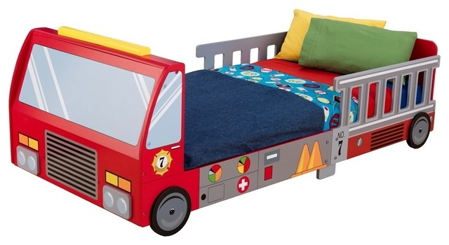 Kidkraft Fire Truck Toddler Bed Contemporary Toddler