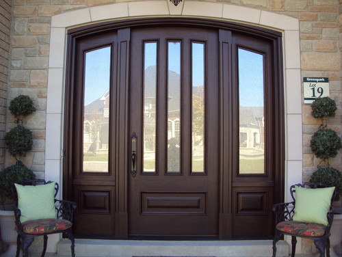Exterior Doors · More Info & Are those windows mirror tinted or are there coverings behind them?