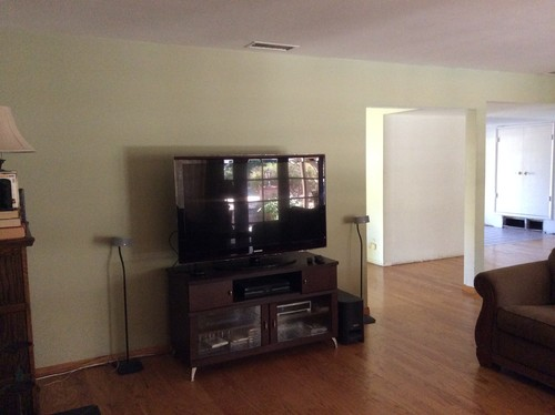 where to put tv in living room?