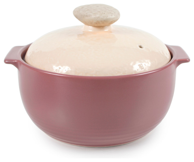 Neoflam Kiesel Ceramic Stovetop Cookware Lilac 1.5qt Covered Casserole.