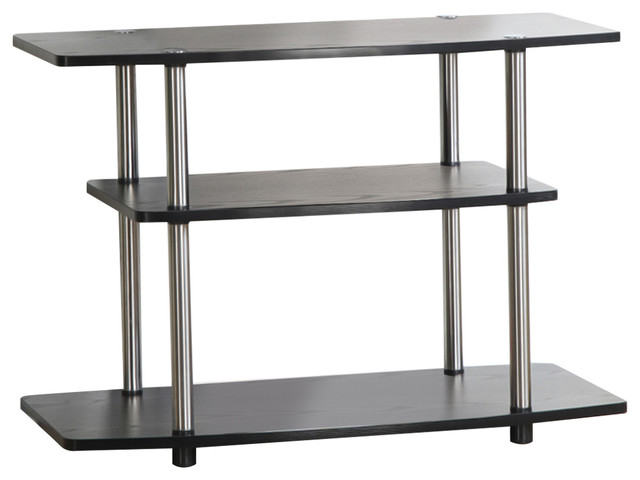 Convenience Concepts - 3-Tier TV Stand - View in Your Room! | Houzz