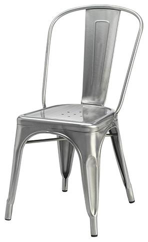 Cassandra Dining Chair, Gunmetal
