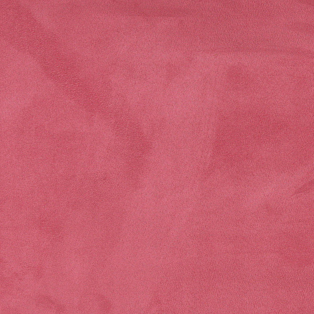 Pink Microsuede Suede Upholstery Fabric By The Yard
