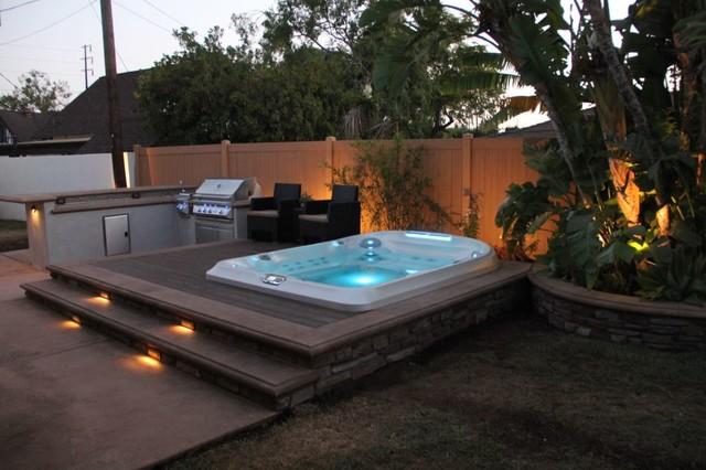 vaulted spa 1 classique terrasse et patio orange county par mission valley spas. Black Bedroom Furniture Sets. Home Design Ideas