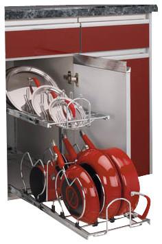 Rev-A-Shelf 5CW2-1222-CR Two-Tier Cookware Organizer - Chrome ...