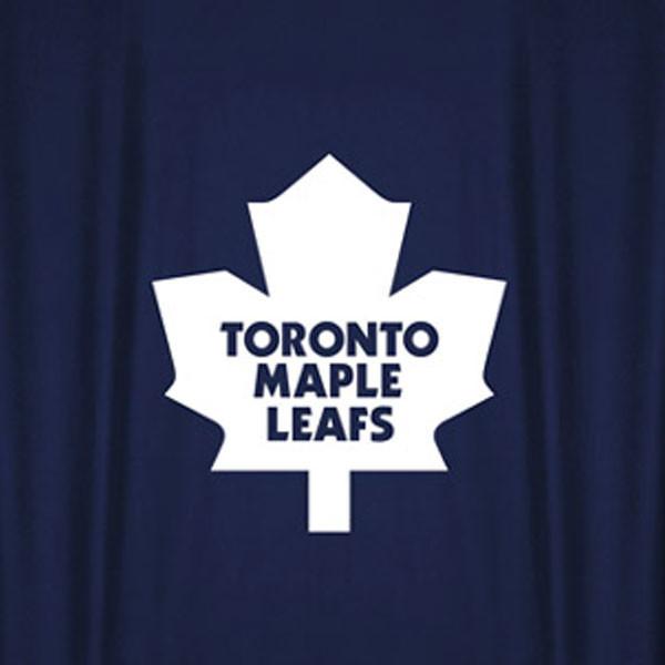 NHL Toronto Maple Leafs Hockey Locker Room Shower Curtain