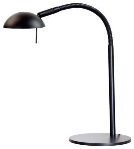 Kenroy Home 20971 Basis 1 Light Gooseneck Desk Lamp Midcentury Desk Lamps