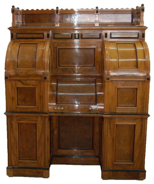 Consigned Moore Combination Patent Secretary Desk C 1878