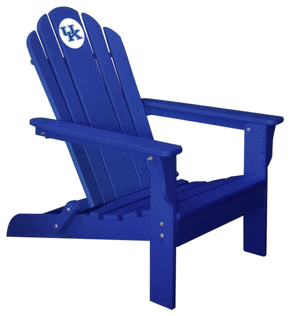 Kentucky Wildcats Folding Composite Adirondack Patio Chair: composite adirondack chairs