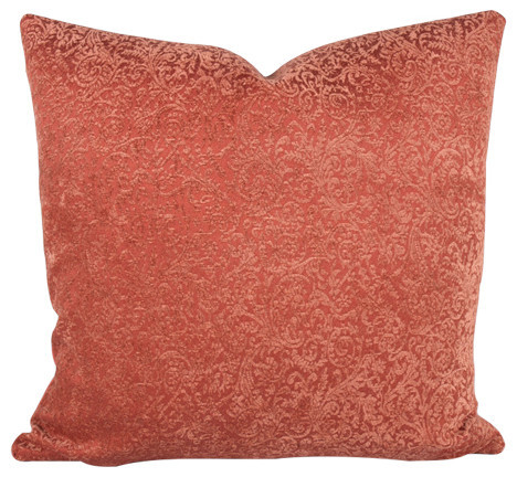 Coral Princess 90/10 Duck Insert Pillow With Cover, 22x22
