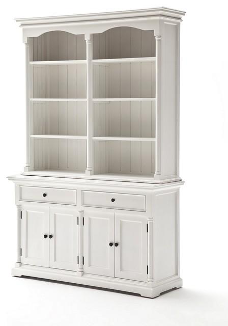 Bonsoni White Angel Hutch Cabinet