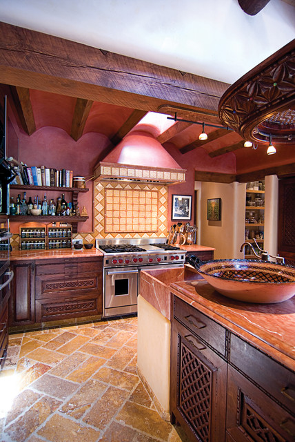 Moroccan Kitchen Santa Fe Nm Mediterranean Kitchen Albuquerque By Statements