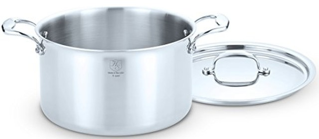 Hammer Stahl 8 Quart Dutch Oven With Cover.