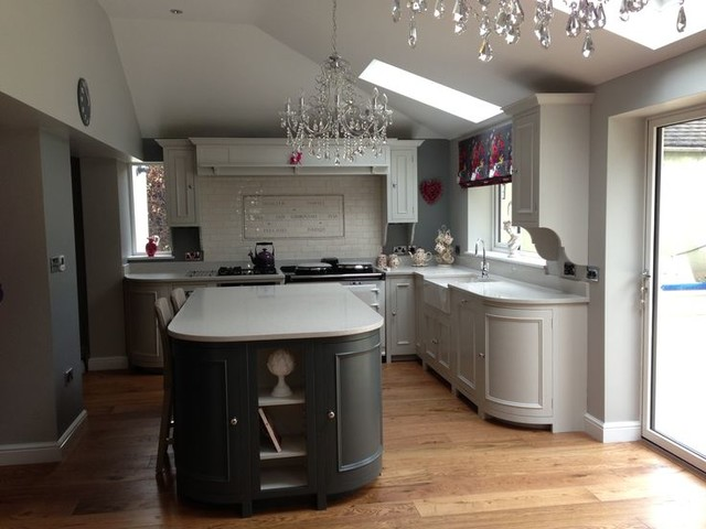 Neptune Chichester Kitchen Painted In Neptune Lily And